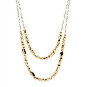 Gorjana Kellen slide adjustable layer necklace